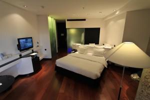 Bedroom fully furnished.